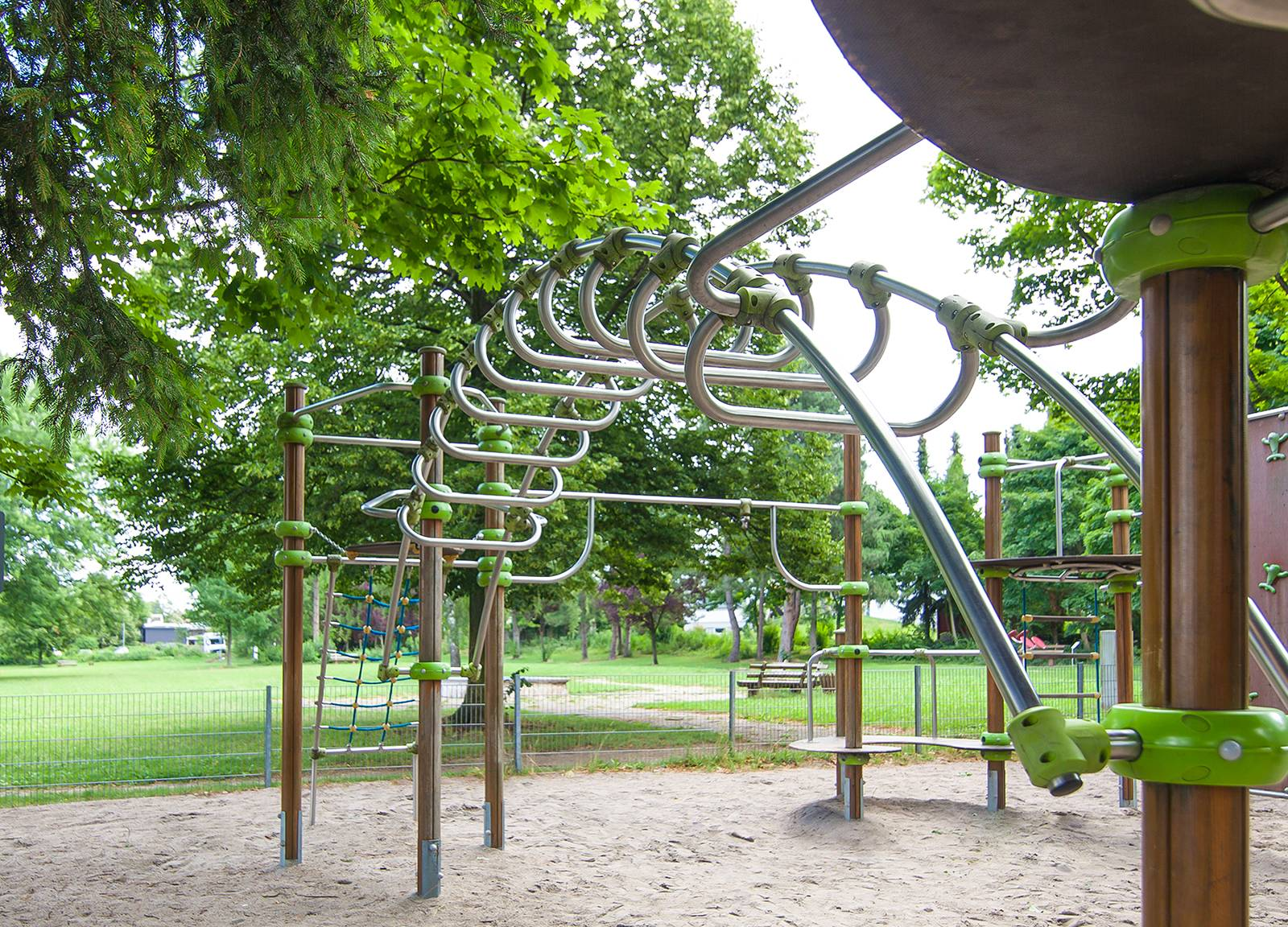 Alsbach Spielplatzanlage im Erpel