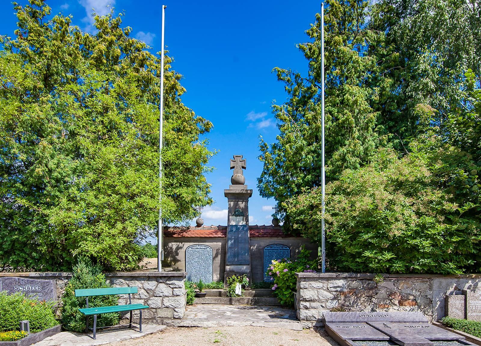 Gedenkstätte Friedhof Hähnlein