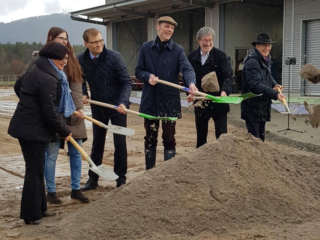 16.03.2018 Spatenstich Neubau Bauhof