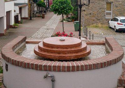 Brunnensanierung, Scheuergasse, Zwingenberg